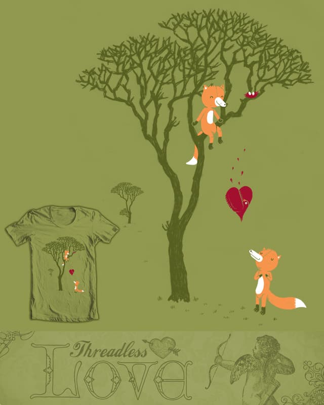 Love is... by randyotter3000 on Threadless