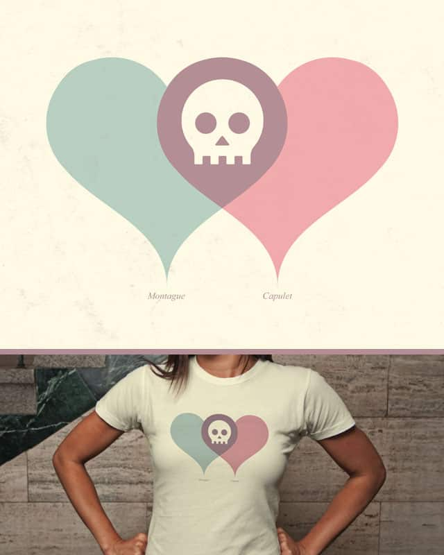 Montague and Capulet by quick-brown-fox on Threadless