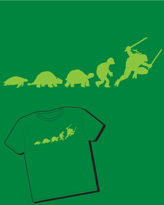 Evolution is Mutation by AdamKenobi on Threadless