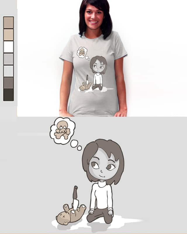Evil lady by kinghowi1988 on Threadless