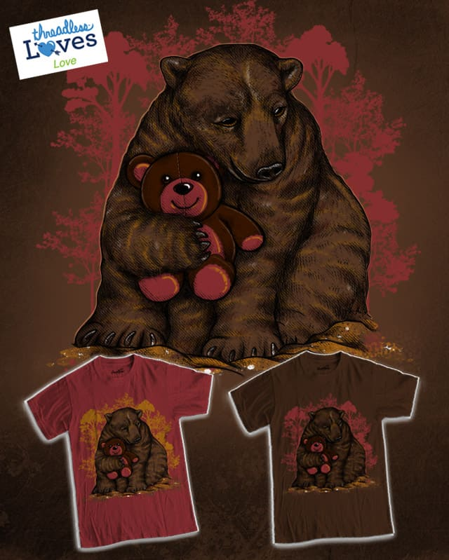 BearFriend Forever (BFF) by dandingeroz on Threadless
