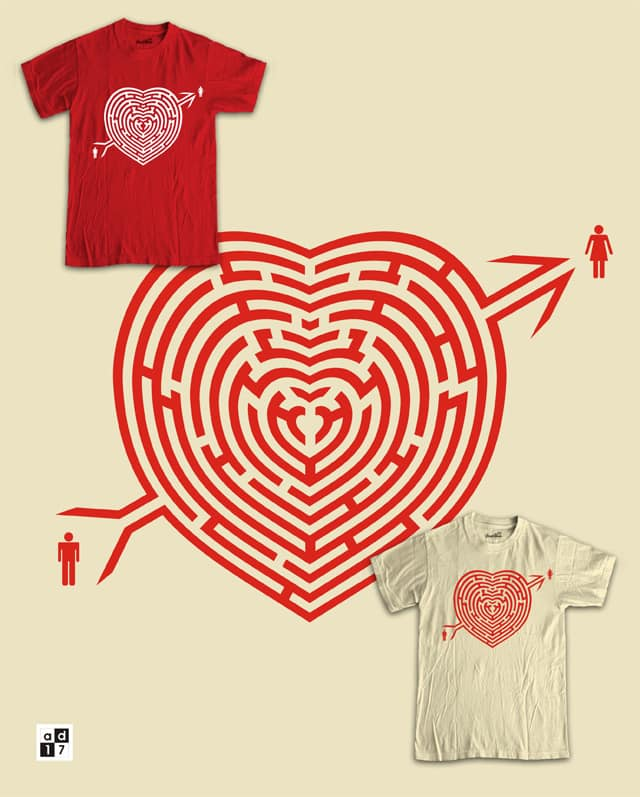 Love will find a way by a.d.17 on Threadless