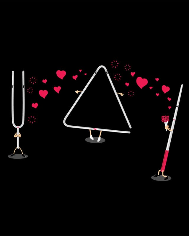 Bizzare Love Triangle by eQuivalent on Threadless