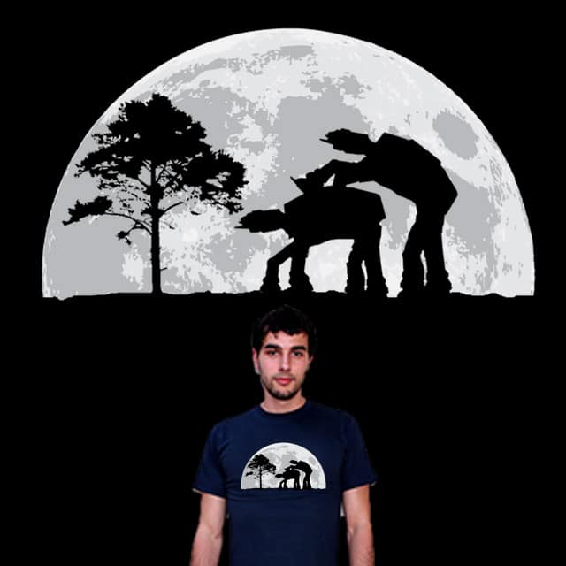 Moon Walker by Zen Studio on Threadless