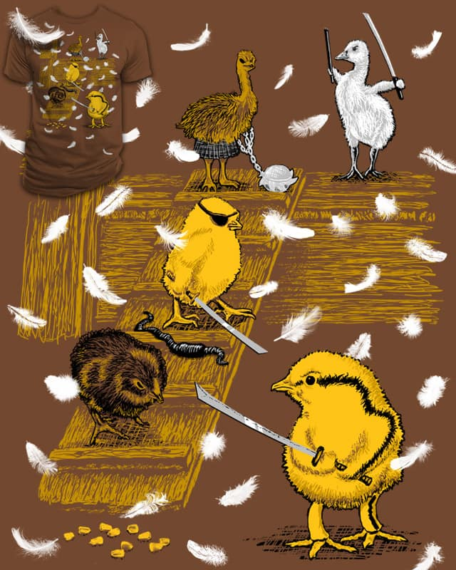 Showdown at the Hen House by EN AJUSTES on Threadless