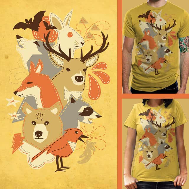 animal.stitches by thechild on Threadless