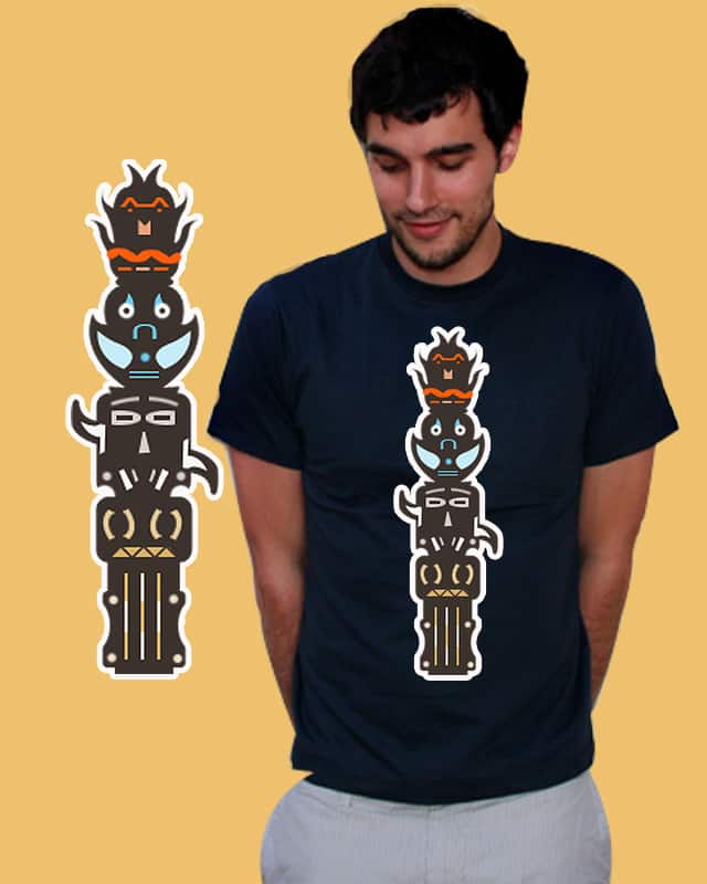 Totem Elements by Evan_Luza on Threadless