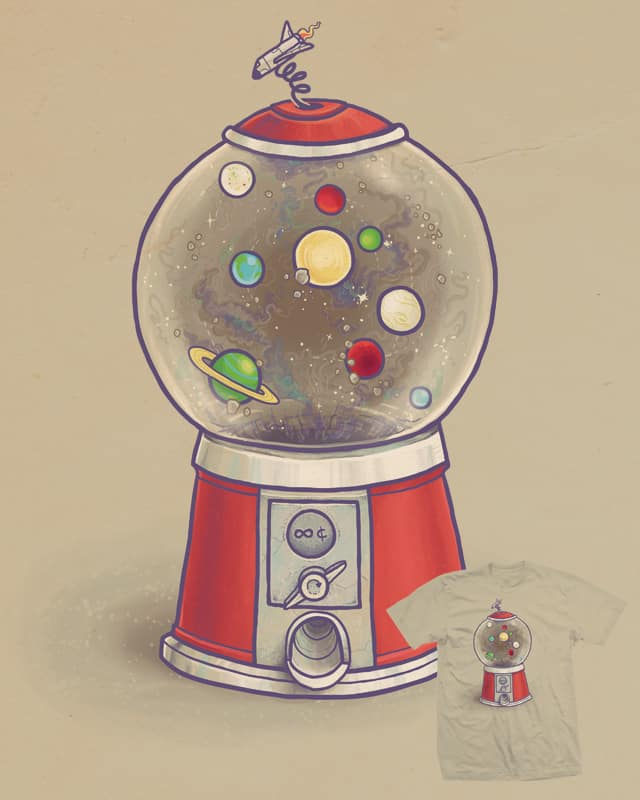 Galactic Gumtastic by Demented on Threadless