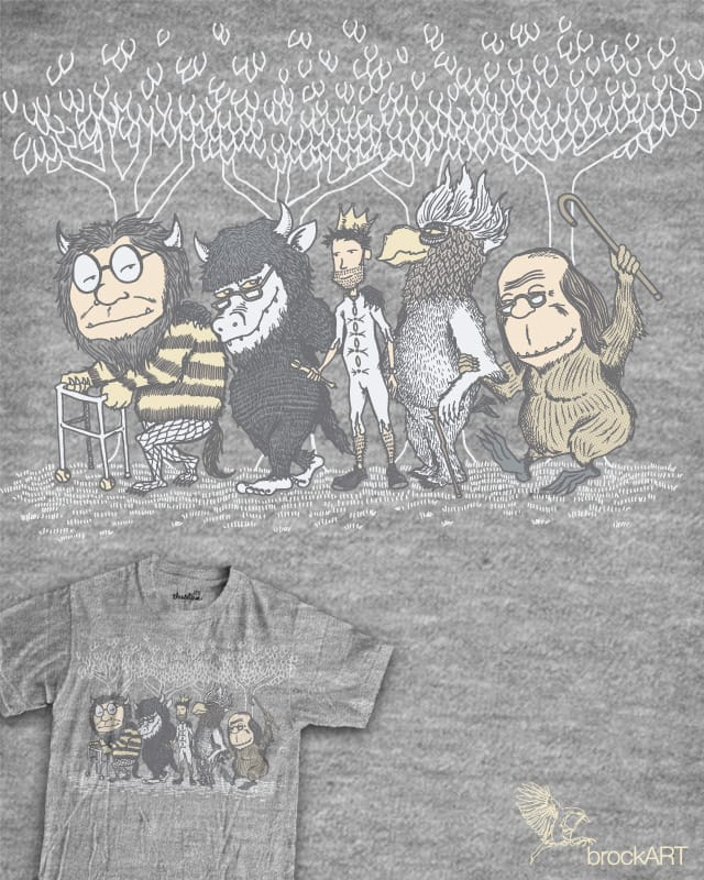 The Mild Rumpus by brockart on Threadless