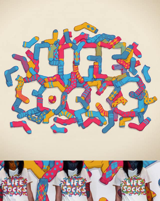 Life Socks by charlesque on Threadless