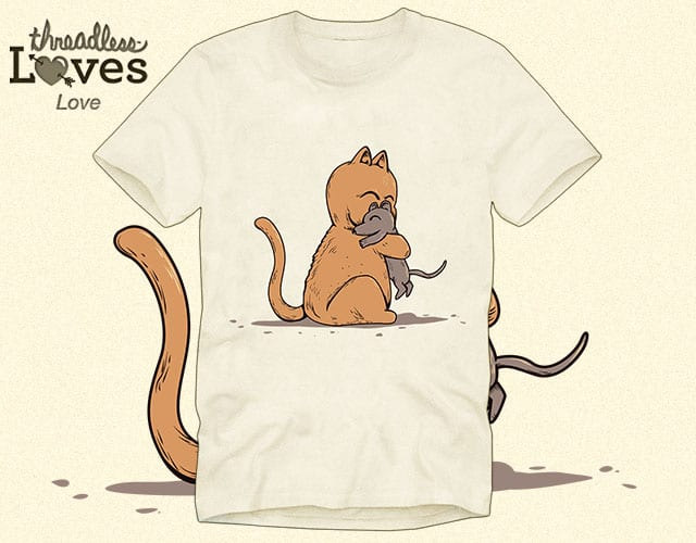 Simple love by Wilfur on Threadless