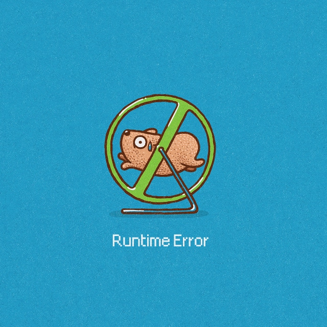 Runtime Error by jameses.x on Threadless