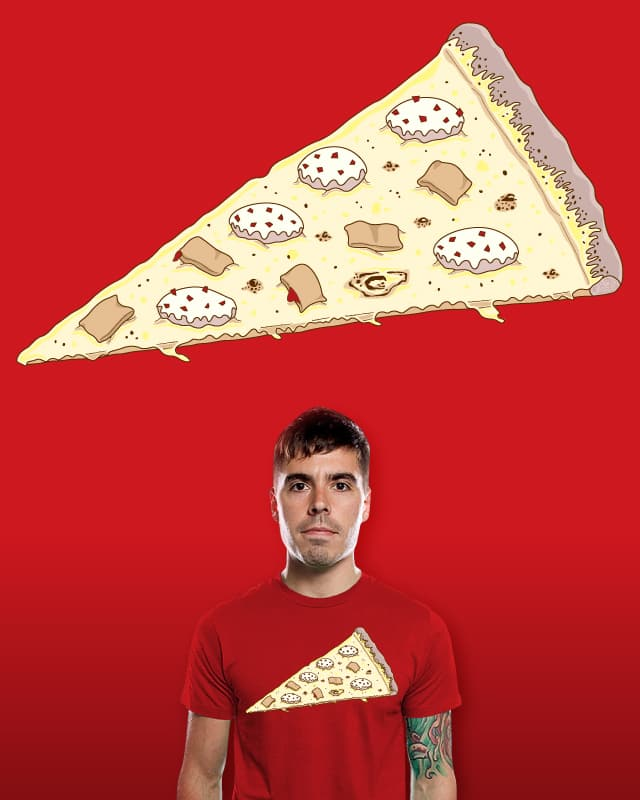 Pizza flavored pizza by parallelish on Threadless