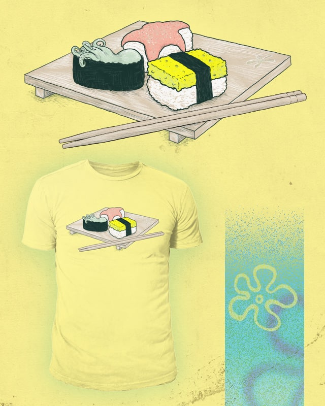 Seafood Sushi by darel on Threadless
