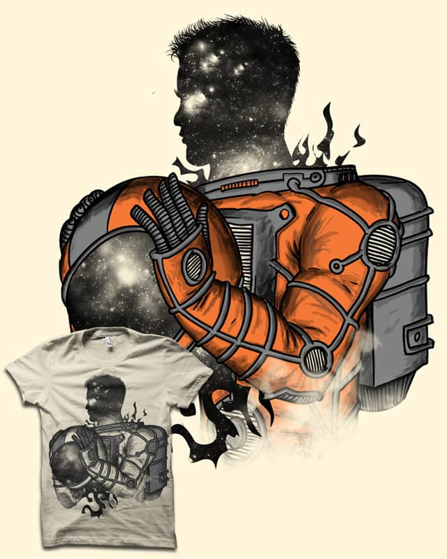 the Spaceman by biotwist on Threadless