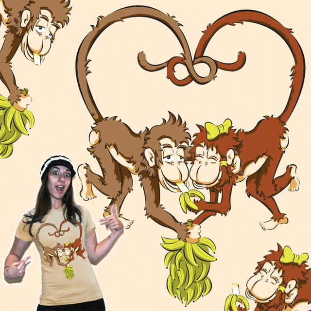 Bananas to Share by normannazar on Threadless