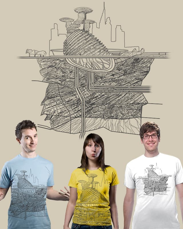 her heart belongs to the city by uwil on Threadless