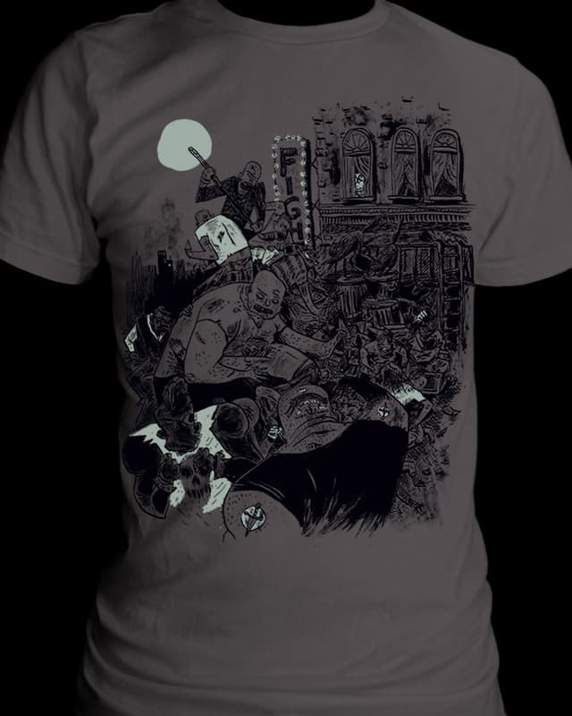 Night Fight by BurritoGoblin on Threadless
