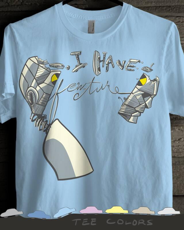 i have few-ture by uwil on Threadless