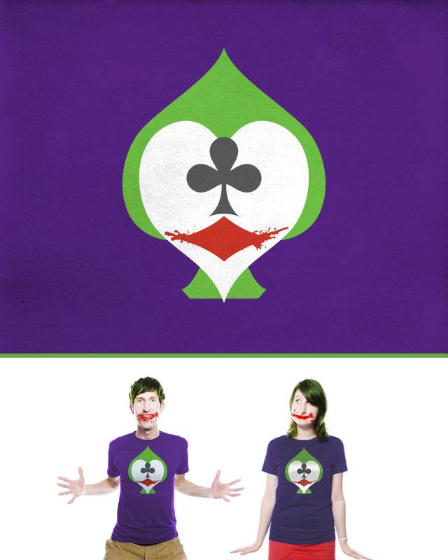 The Joker's Wild by quick-brown-fox on Threadless