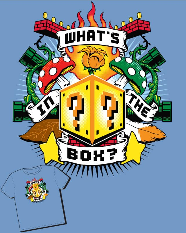 What's in the Box? by AdamKenobi on Threadless