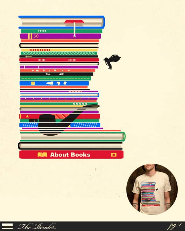 The Reader by TangYauHoong on Threadless