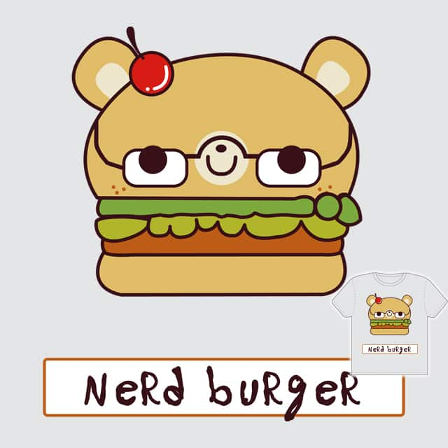 Nerd Burger by decosky on Threadless
