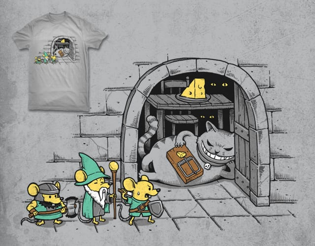 The Lost Cheese Adventure by ben chen on Threadless