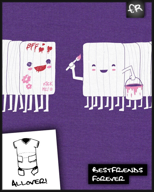 Best Friends Forever! by fuloprichard on Threadless