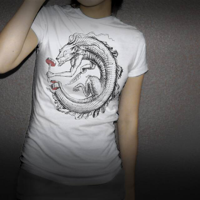 Ouroboros by tolagunestro on Threadless