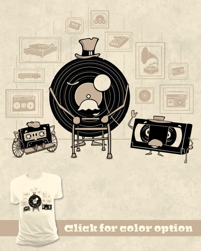 Three old friends by Goto75 on Threadless