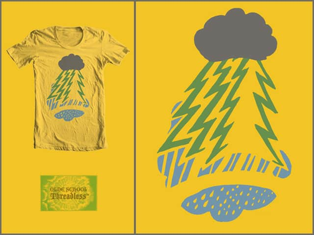 Thunderstorm in the Woods by bsweber on Threadless