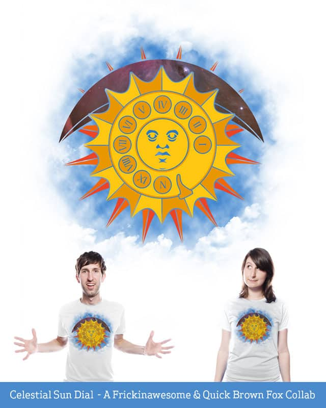 Celestial Sun Dial by quick-brown-fox on Threadless