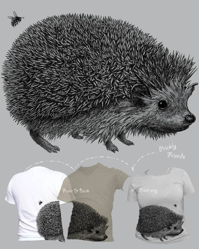 Prickly Friends by kozy on Threadless