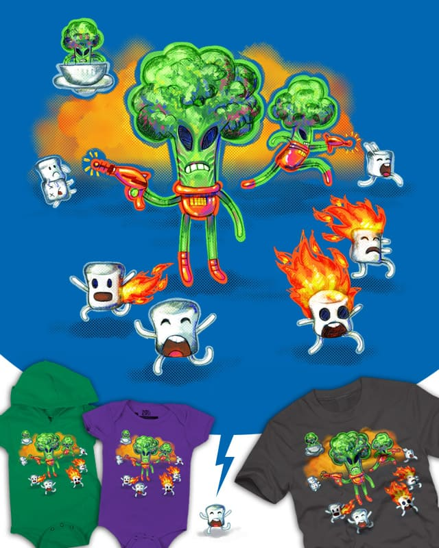 Veggie Attack by JessyQueChido on Threadless