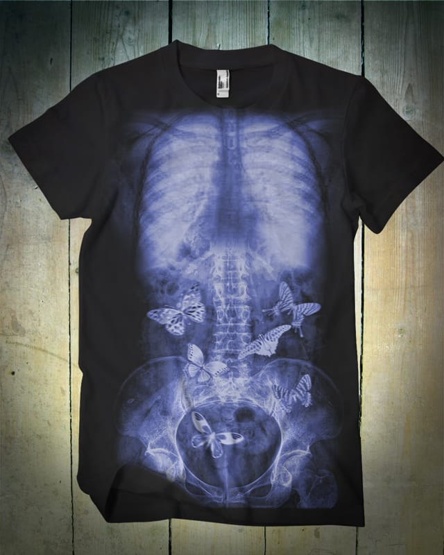 Butterly in the stomach by kooky love on Threadless