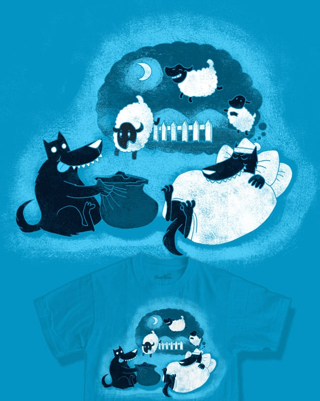 Counting Sheep by queenmob on Threadless