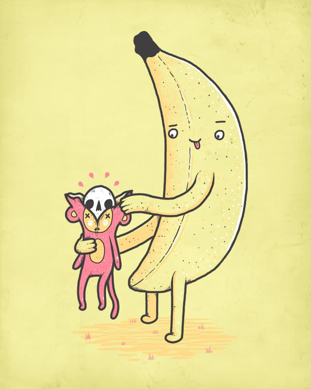 The bananas revenge by randyotter3000 on Threadless
