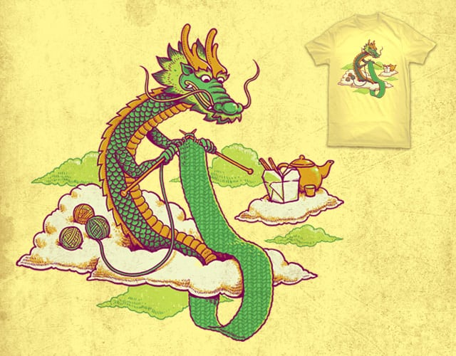 knitting a sweater by ben chen on Threadless
