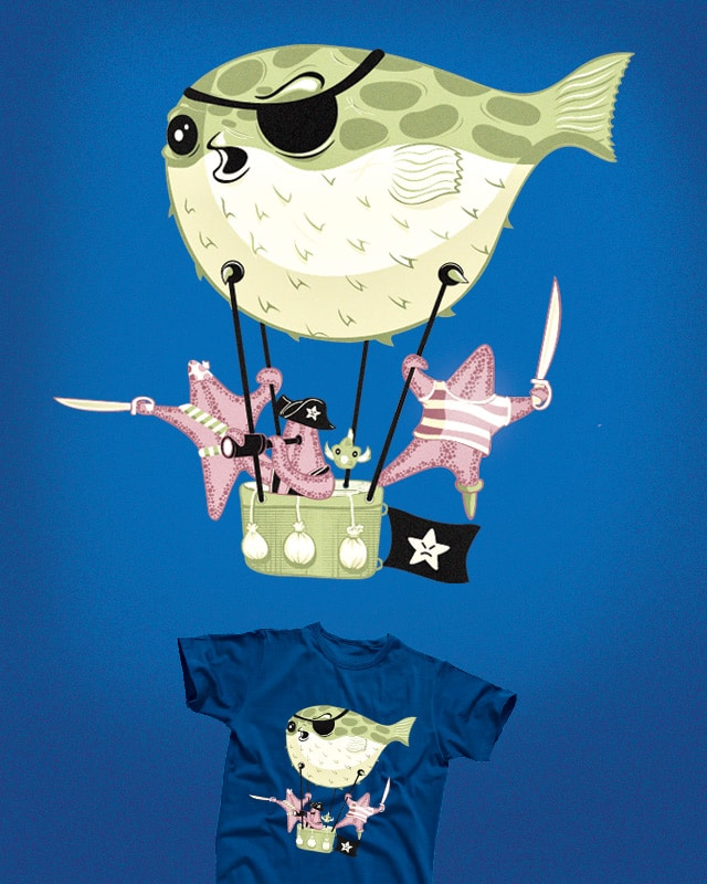 PIRATES UNDERSEA by oscarospina on Threadless
