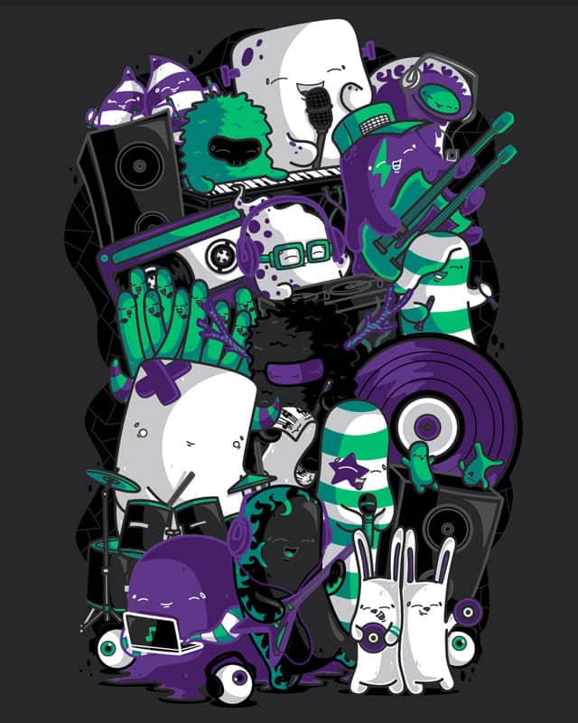 Toxic Music by Recycledwax on Threadless