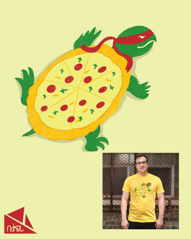 turtles and pizza by ndikol on Threadless