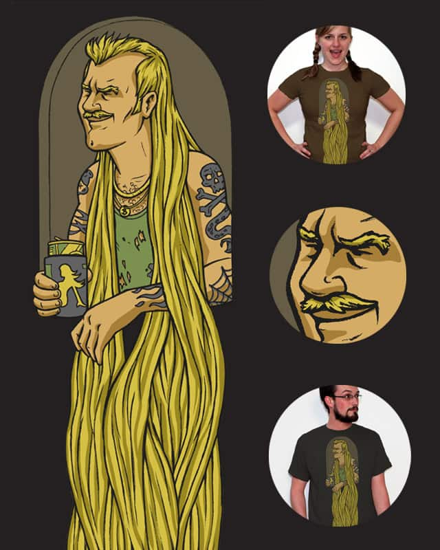 Bobby: Rapunzel's Lesser Known Brother by keithmore on Threadless