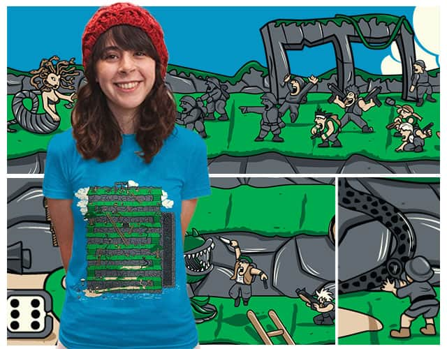 Metal Snake X Ladder Island by Wilfur on Threadless