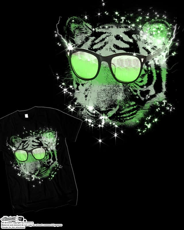 tiger by inumocca on Threadless