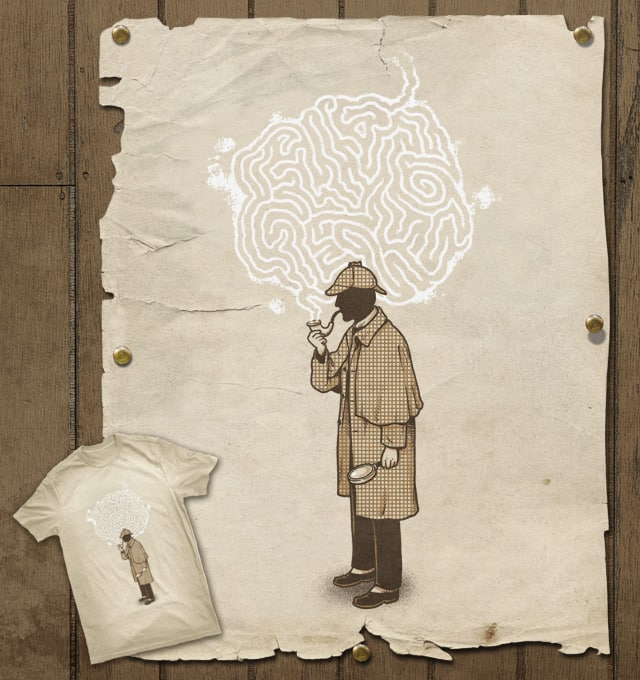 Thinking puzzle by ben chen on Threadless