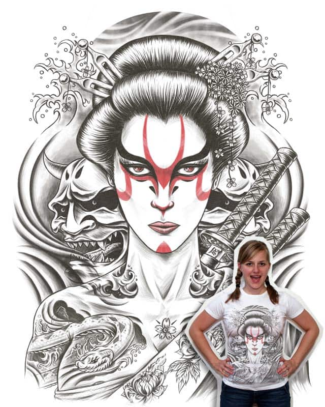 Kabuki Geisha by Rial on Threadless