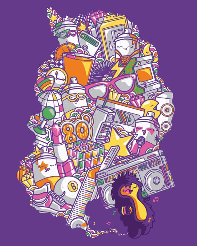 Full 80' by Recycledwax on Threadless
