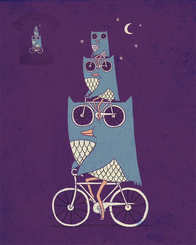 Owl Wow Awwwww by ilovedoodle on Threadless