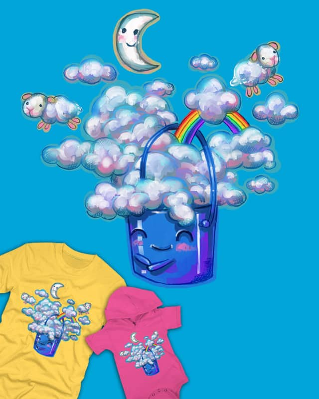Bucket of Dreams by JessyQueChido on Threadless